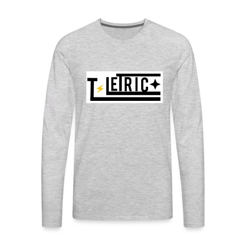 T-LETRIC Box logo merchandise - Men's Premium Long Sleeve T-Shirt
