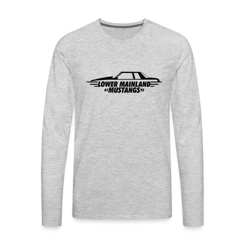 Notch1 - Men's Premium Long Sleeve T-Shirt