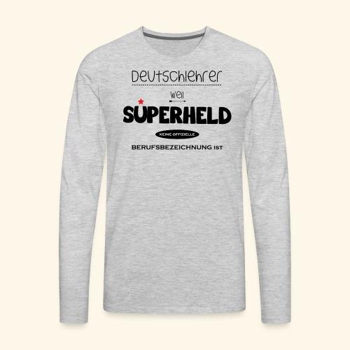 German Teacher Male - Men's Premium Long Sleeve T-Shirt