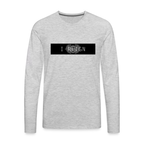 iREIGN Black Design - Men's Premium Long Sleeve T-Shirt