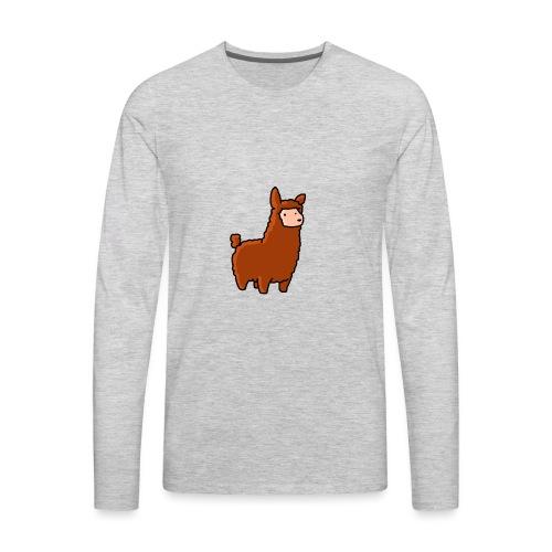 The lama - Men's Premium Long Sleeve T-Shirt