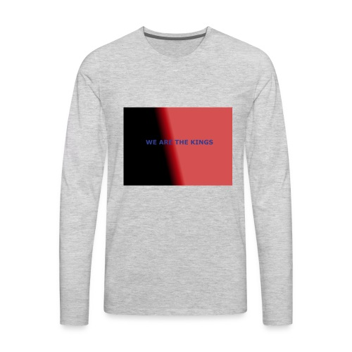 Limited edition Hoodie - Men's Premium Long Sleeve T-Shirt