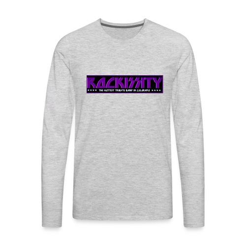 ROCKISSITY the Black Light Logo - Men's Premium Long Sleeve T-Shirt
