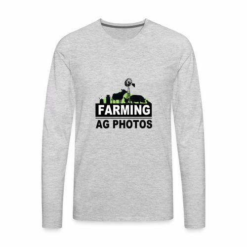Farming Ag Photos - Men's Premium Long Sleeve T-Shirt