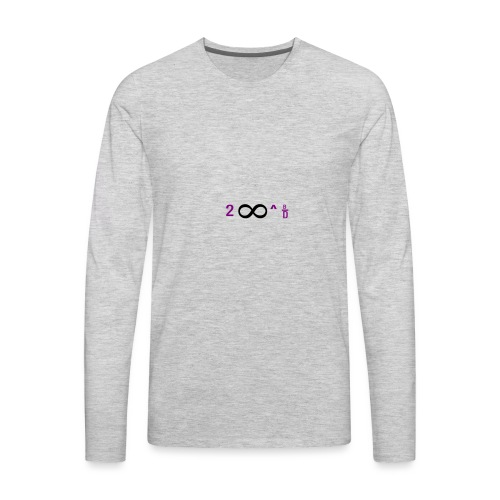 To Infinity And Beyond - Men's Premium Long Sleeve T-Shirt