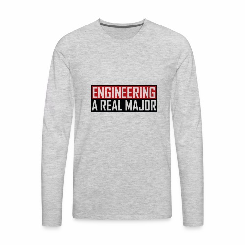 Engineering T-Shirts and Apparel - Men's Premium Long Sleeve T-Shirt