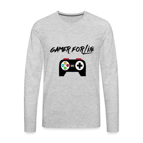 gamer for life1 - Men's Premium Long Sleeve T-Shirt