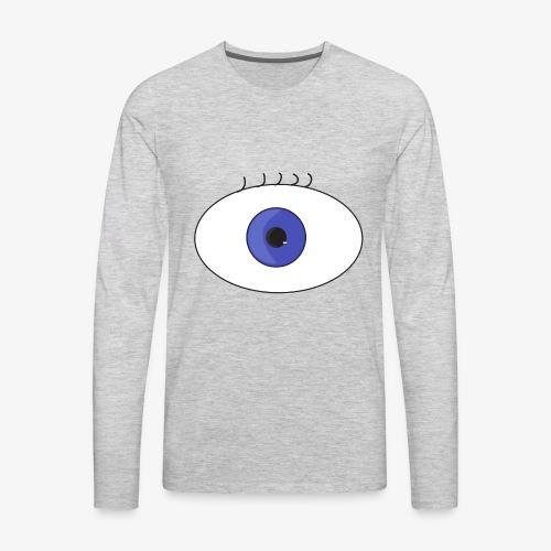 eye - Men's Premium Long Sleeve T-Shirt