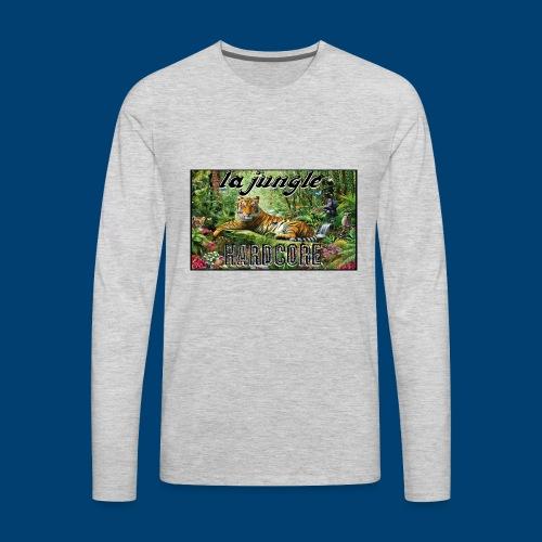 lajunglehardcore - Men's Premium Long Sleeve T-Shirt