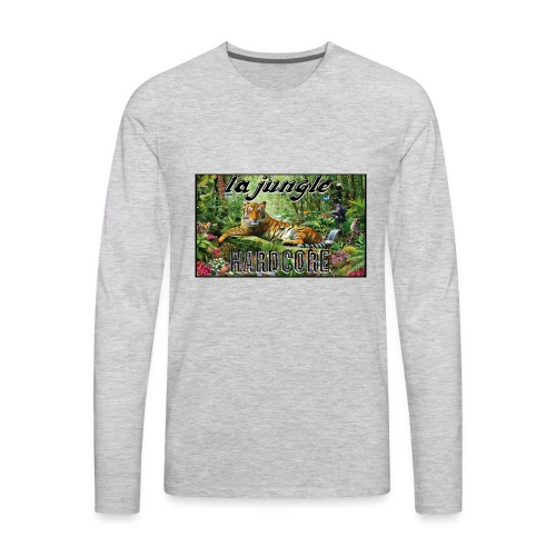 lajunglehardcore - Men's Premium Long Sleeve T-Shirt