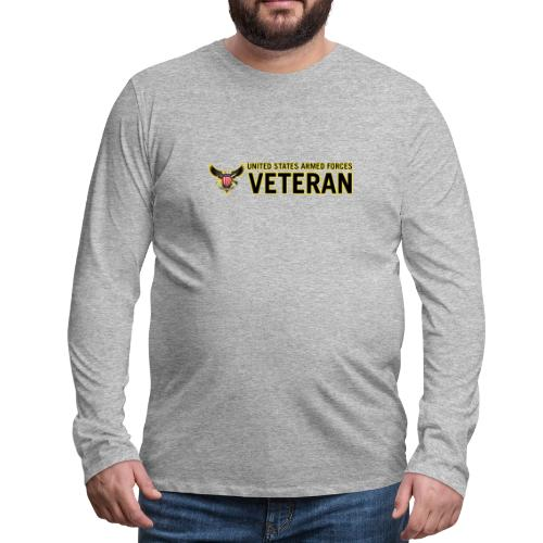 United States Armed Forces Veteran - Men's Premium Long Sleeve T-Shirt