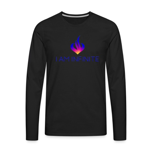 I Am Infinite - Men's Premium Long Sleeve T-Shirt