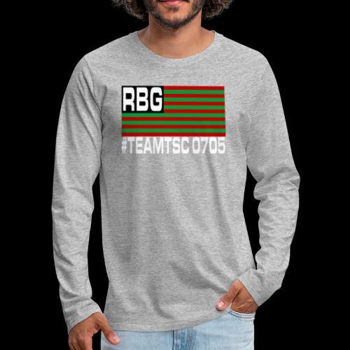 TeamTSC RBGFlag 2 - Men's Premium Long Sleeve T-Shirt