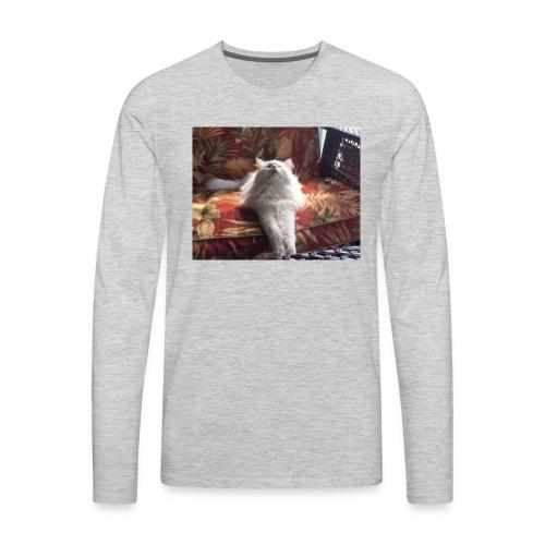 minion cat - Men's Premium Long Sleeve T-Shirt