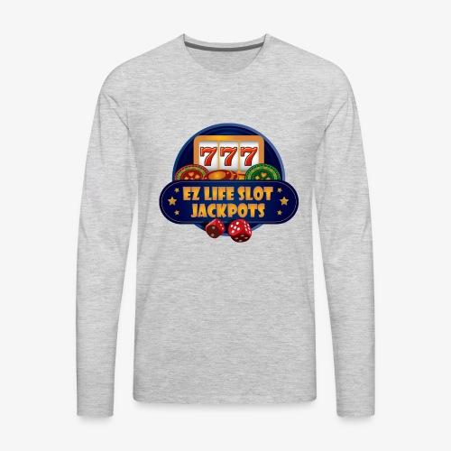 EZ Life Logo - Men's Premium Long Sleeve T-Shirt