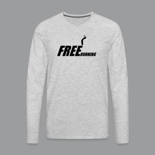 Freerunning Flip - Men's Premium Long Sleeve T-Shirt