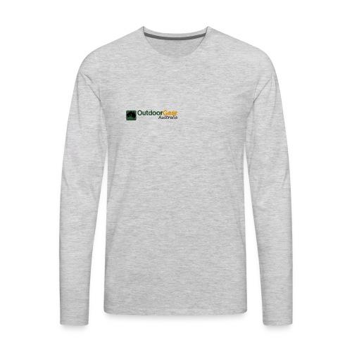Outdoor Gear Australia - Men's Premium Long Sleeve T-Shirt
