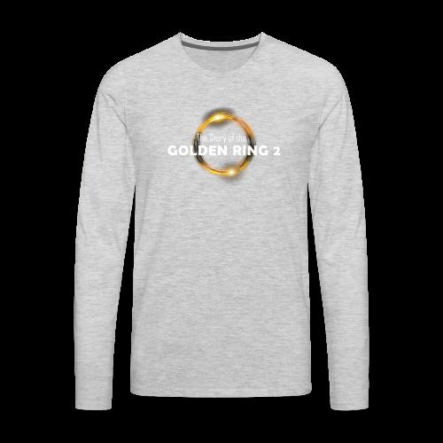 golden ring - Men's Premium Long Sleeve T-Shirt