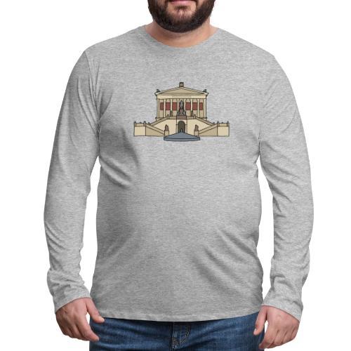 National Gallery BERLIN - Men's Premium Long Sleeve T-Shirt