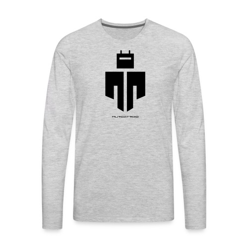 Murgatroid Robot Logo - Men's Premium Long Sleeve T-Shirt