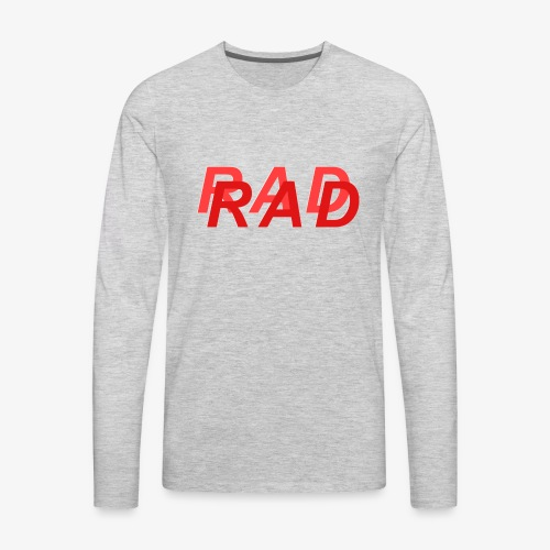 RAD IN RED - Men's Premium Long Sleeve T-Shirt