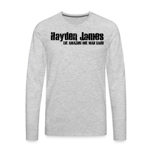 HJ Trans Logo Black 2018 - Men's Premium Long Sleeve T-Shirt