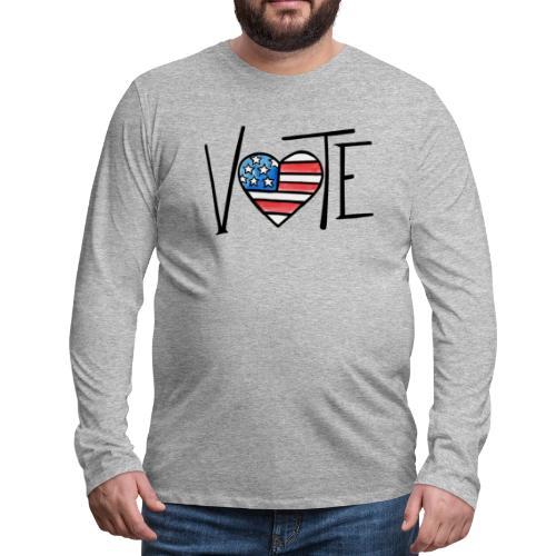 VOTE - Men's Premium Long Sleeve T-Shirt