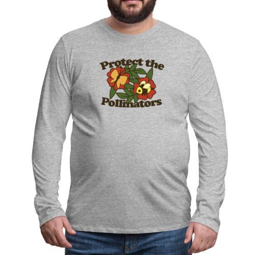 Protect the pollinators - Men's Premium Long Sleeve T-Shirt