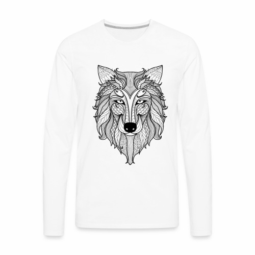 Classy Fox - Men's Premium Long Sleeve T-Shirt