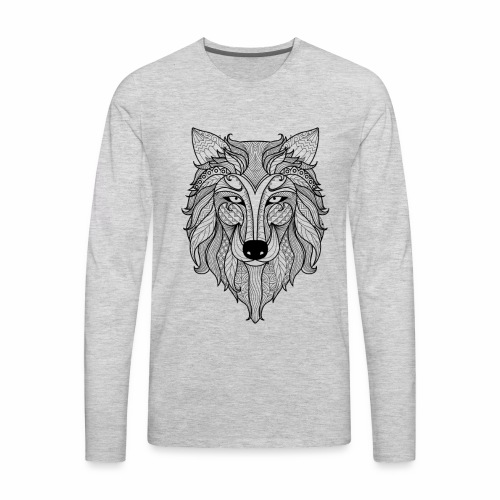 Classy Fox - Men's Premium Long Sleeve T-Shirt