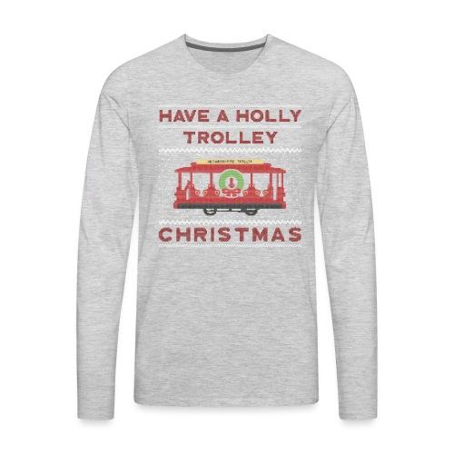 holly trolley - Men's Premium Long Sleeve T-Shirt