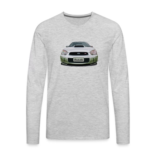 Subaru WRX Second Generation - Men's Premium Long Sleeve T-Shirt