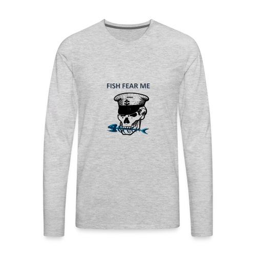 fishfearme1 - Men's Premium Long Sleeve T-Shirt