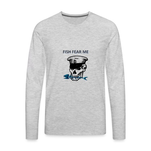 fishfearme1 - Men's Premium Long Sleeve T-Shirt