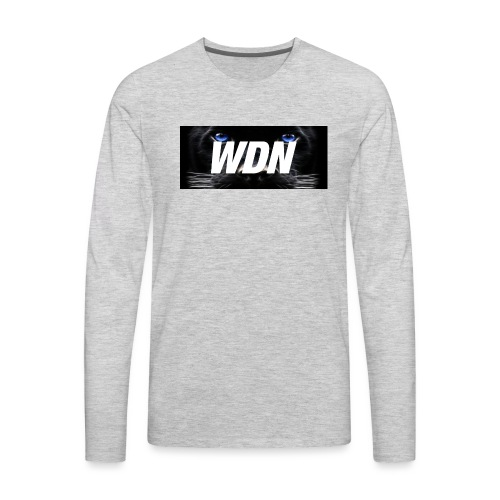 WDN black - Men's Premium Long Sleeve T-Shirt