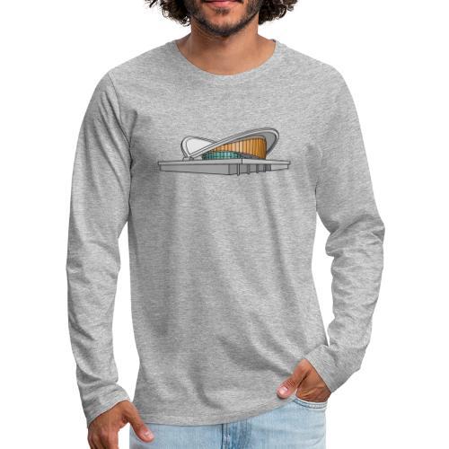 Congress Hall BERLIN - Men's Premium Long Sleeve T-Shirt