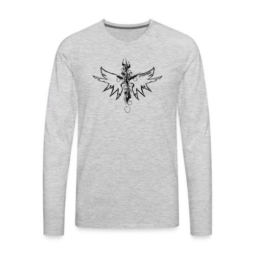 peace.love.good karma - Men's Premium Long Sleeve T-Shirt