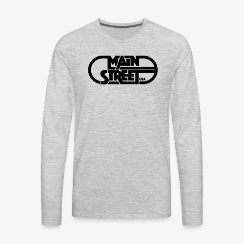 Main Street USA - Men's Premium Long Sleeve T-Shirt