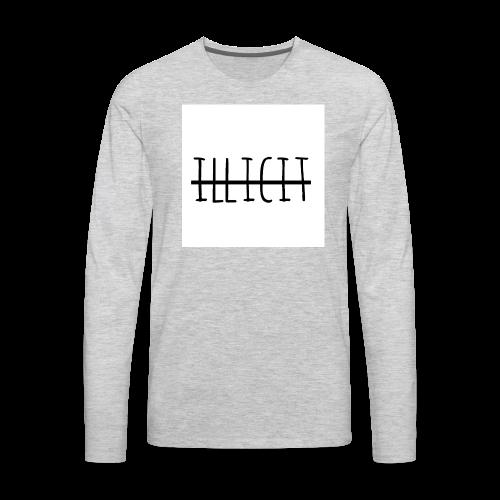illicit - Men's Premium Long Sleeve T-Shirt