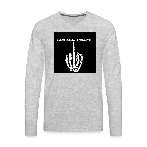 tksmiddlefingershirt - Men's Premium Long Sleeve T-Shirt