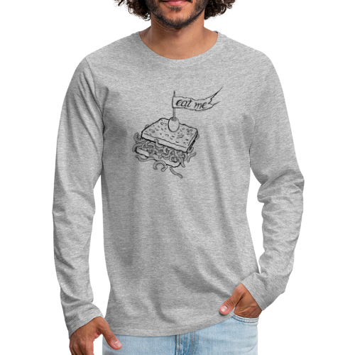 Eat me - Men's Premium Long Sleeve T-Shirt