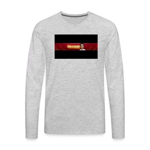 tony banner - Men's Premium Long Sleeve T-Shirt