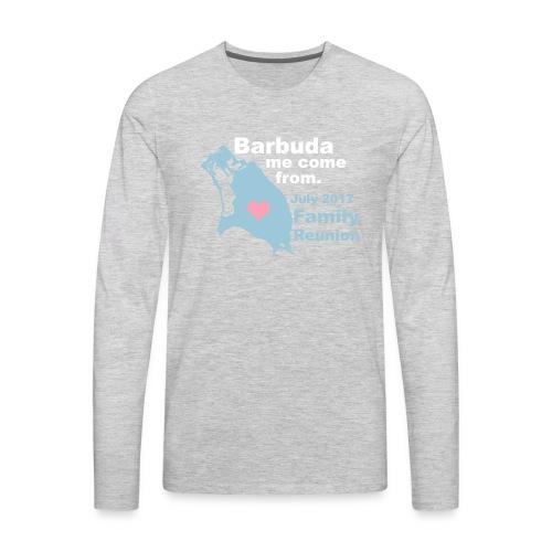 Barbuda Family Reunion - Men's Premium Long Sleeve T-Shirt