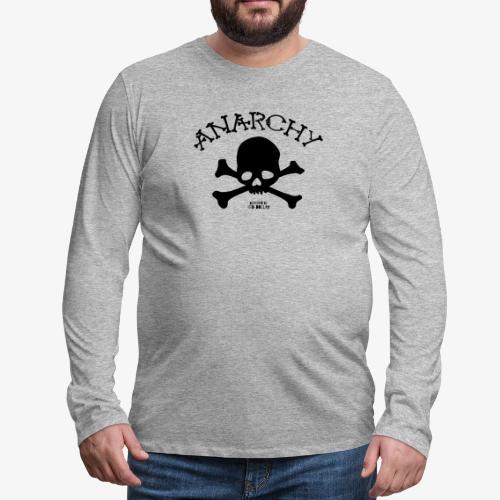 Anar Skull black - Men's Premium Long Sleeve T-Shirt