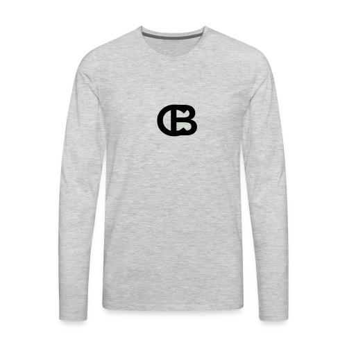CAPTONBEAST Logo - Men's Premium Long Sleeve T-Shirt