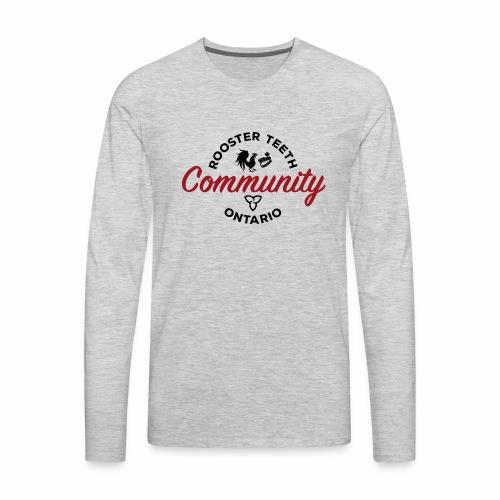 Rooster Teeth Ontario Community - Men's Premium Long Sleeve T-Shirt
