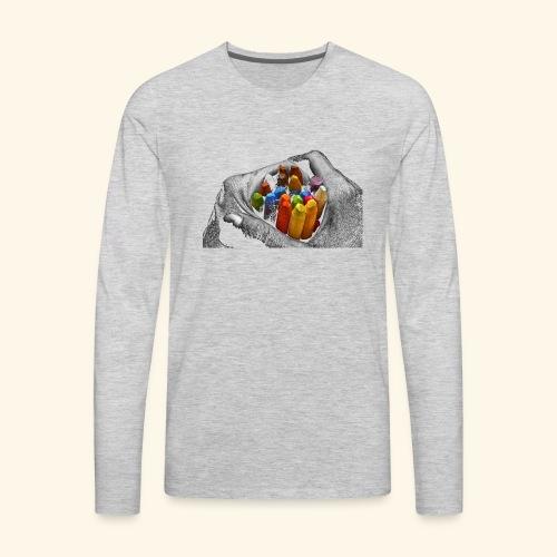 Hand+science - Men's Premium Long Sleeve T-Shirt