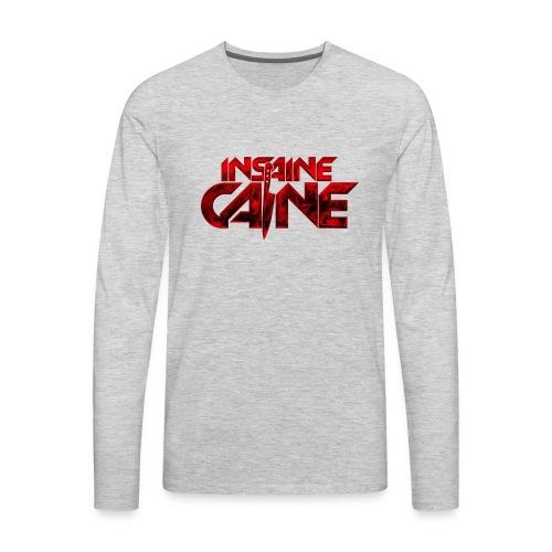 Insaine Caine - The Logo - Drop 2 - Men's Premium Long Sleeve T-Shirt