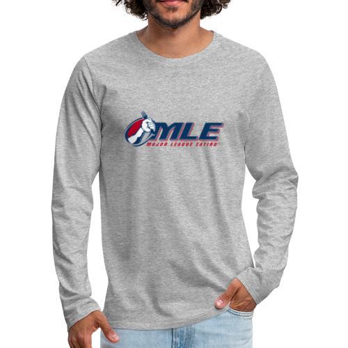 Major League Eating Logo - Men's Premium Long Sleeve T-Shirt
