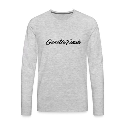 genetic png - Men's Premium Long Sleeve T-Shirt